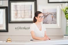 On the other side just for one day! Happy birthday to Martina, our receptionist and of course social media manager! If you visit us you will definitely see this smile! #TheFifteenKeysHotel #Fifteenkeys #FeelsHomey #TFKHTeam #rome #roma #RioneMonti #hbd