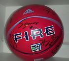 For Sale - Chicago Fire Team Autographed size 5 Adidas Soccer Ball 2014  Proof*pics  - See More At  http://sprtz.us/ChicagoFire