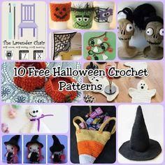 10 Free Halloween Crochet Patterns