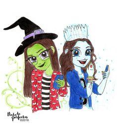 Happy #Hallowen!!! 🎃🎉🕸👻 Feliz #Halloween!!! 🎃🎉🕸👻 Nina y Luna en #Monstubre! 🙂🎨🎉😱👻💀🎃🎨🎊🌌 Espero que les haya gustado! Y no se olviden como anuncie hoy hace una hora atrás y en mi cuenta Karolista, mañana dibujo de Karol en la promoción de...