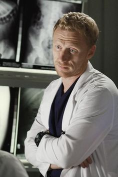 Grey's Anatomy - just watched him break a patient's jaw- he's one of my favorites! Owen Hunt