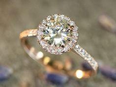 I got: Rose Gold Halo Diamond Engagement Ring! Which Engagement Ring Is Right For You?