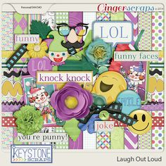 Laugh Out Loud by Keystone Scraps