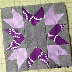 Bee Blocks n Such - Gen X Quilters Great color choice