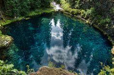 Tamolitch Falls - Blue Pool