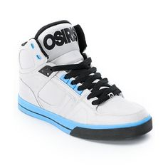 Osiris high tips silver and blue own em but will never buy another pair of osiris shoes again crazy expensive