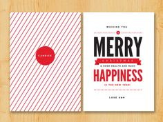 Christmas card designs by 'Pretty Neat': http://prettyneatblog.com/category/christmas-cards/