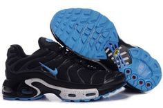 competitive price 550fc 71feb Nike Air Max Tn Men Running new models tn requin pas cher noir homme Chaussures  Blue Black Mesh