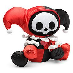 Harley Quinn Skelanimals Plush