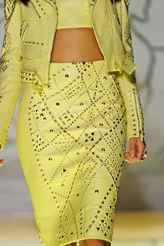 This Season yellow by Versace.