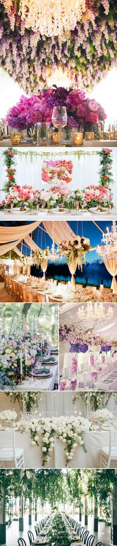 30 Wedding Venue Ideas with Lots of Flowers | http://www.deerpearlflowers.com/wedding-venue-ideas-with-lots-of-flowers/