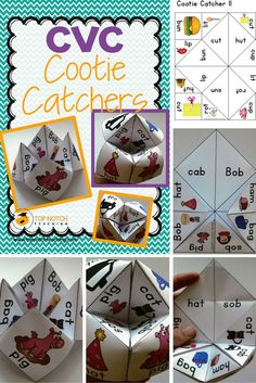 This pack includes 15 different cootie catchers to help your students learn CVC words. They are split into 5 sets, where each set introduces new sounds/letters. Each set builds on the previous and will include the sounds/letters from previous sets.