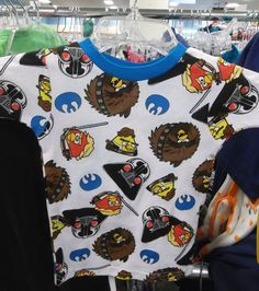 Angry birds? Check. Star Wars? Check. What more could a kid ask for in a shirt?  #Goodwillit