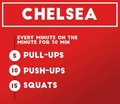 Workout 2: Chelsea