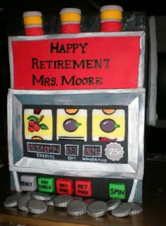 Slot Machine - Birthday Cakes - TipsyCake Chicago