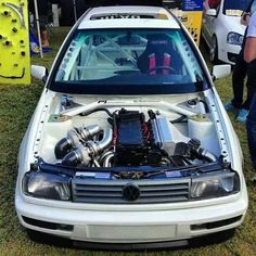 Twin turbo VR6 RWD Jetta