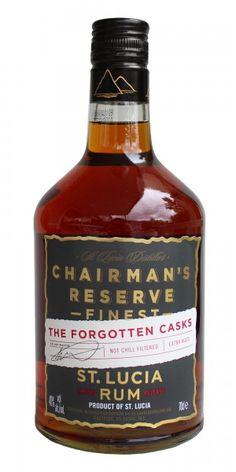 Chairman's Reserve Finest Rum, The Forgotten Casks, St Lucia Tolle Geschenke mit Rum gibt es bei http://www.dona-glassy.de/Geschenke-mit-Rum:::22.html
