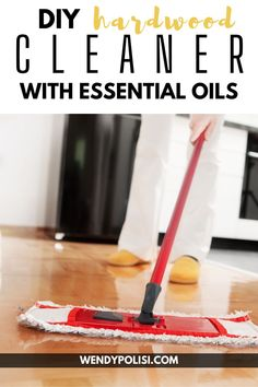 This DIY Hardwood Floor Cleaner with Essential Oils is the best way to care for your hardwood floors naturally. Homemade cleaners are an easy way to eliminate toxins in the home. It will leave your home looking and smelling fabulous! Diy Cleaners, Cleaners Homemade, Hardwood Floor Cleaner, Hardwood Floors, Cleaning Spray, Homemade Cleaning Products, Essential Oil Uses, Good Housekeeping, Household Tips