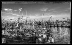Puerto de Mar del Plata - Provincia de Buenos Aires - Argentina - Abril de 2014 Monochrome, New York Skyline, Travel, Mar Del Plata, Buenos Aires, Be Nice, Viajes, Monochrome Painting, Trips