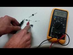 How to test a diode. tester circuit can check the diode the good or bad and also can indicate its polarity. using op-amp and LED for display. Diy Electronics, Electronics Projects, Circuit Projects, Display, Led, Check, Floor Space, Billboard