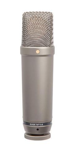 RØDE NT1-A - Large diaphragm condenser cardioid microphone.