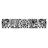 motif tatouage maori bracelet poignet