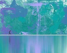 Urban Reflection Print By Deborah Lee