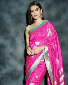 Kriti Sanon to Katrina Kaif: 3 Times celebs kept things simple and elegant in a silk saree | PINKVILLA