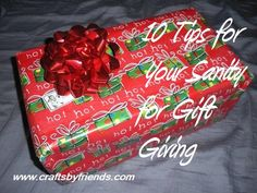 10 Tips for Gift Giving