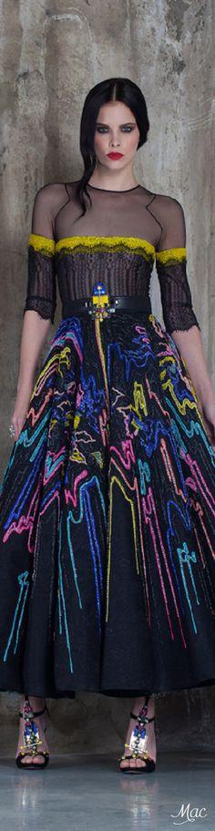 Spring 2016 Haute Couture Basil Soda