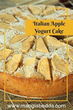 Incredibly moist and so easy, this cake is perfect year round! #applecake #appleyogurtcake Delicious Recipes, Vegan Recipes, Yummy Food, Sweet Desserts, Dessert Recipes, Tim Tam, Yogurt Cake, Easter Chocolate, Thanksgiving Desserts