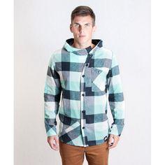 Košile Hooded Shirt Mint #skank