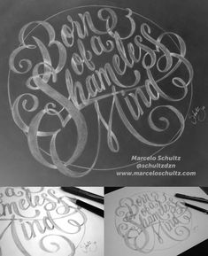 Typography Sketch, Typography Images, Tattoo Lettering Fonts, Typography Love, Types Of Lettering, Typography Letters, Typography Inspiration, Lettering Design, Design Inspiration