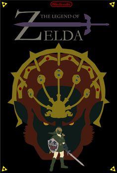 Zelda Poster (Version 2) by Porjin