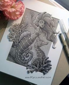 Mermaid 5 by KelleeArt.deviantart.com on @DeviantArt