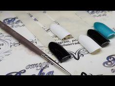 Тонкие Линии В Дизайне Ногтей. как рисовать тонкие линии. бесплатный курс по дизайну ногтей. - YouTube