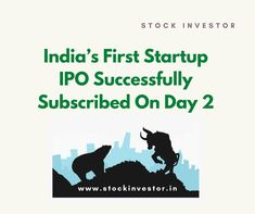 Alphalogic Techsys has propelled its Initial public offering worth of 6.18 crore. It was booked for a membership on Monday. India's First Startup IPO effectively bought in on the second day of offering. It bought in to 0.96 occasions on 27th Aug 2019. Initial Public Offering, India First, Stock Market, Initials, Day, Books, Libros, Book, Book Illustrations
