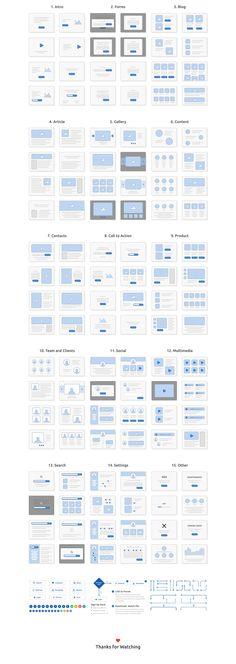 Skeleton Wireframing Kit will help you easily plan and map out all your web projects. Focus on the user flow and storyboarding to create perfect low-fidelity prototypes. This set includes 120 screens for web across 15 content categories, fully editable in .Sketch format