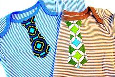 Boys Applique Tie Tutorial/pattern