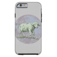Lucky Water Ox   tech case Tough iPhone 6 Case