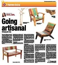 Mag Ruffman- Tool Girl: highlights Zenporium's product lines in the Toronto Sun- Salvage Gets Outdoor Chairs, Outdoor Furniture, Outdoor Decor, Sun Lounger, Toronto, Highlights, Home Decor, Chaise Longue, Decoration Home