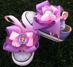 Princess Sofia Shoes Sofia the First Sofia Party by SparkleToes3