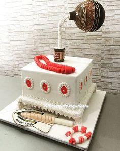 Nigerian Traditional Wedding Cake by The Empress Galleria  www.loveweddingsng.com