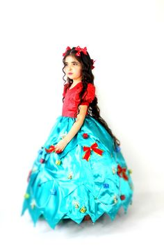 Child's Christmas Tree Costume  Chrismas by FriolinaFancyDesigns, $170.00