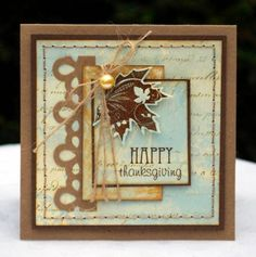 Thanksgiving Card by TesaB - Cards and Paper Crafts at Splitcoaststampers