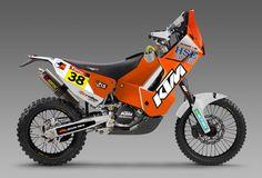 2013 Dakar KTM