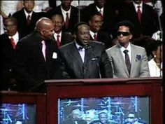 Cedric the Entertainer at the funeral of Bernie Mac   Roland Martin