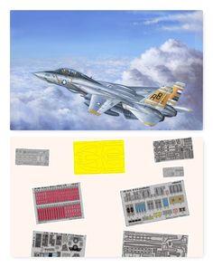 F-14A Hobby Boss 1/48 (Combo-Pack)
