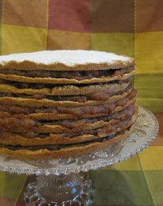 Old-Fashioned Stack Cake Recipe (this recipe makes enough for 6 layers)