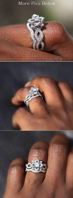 Gorgeous 300+ Flower Rose Diamond Engagement Ring Inspirations